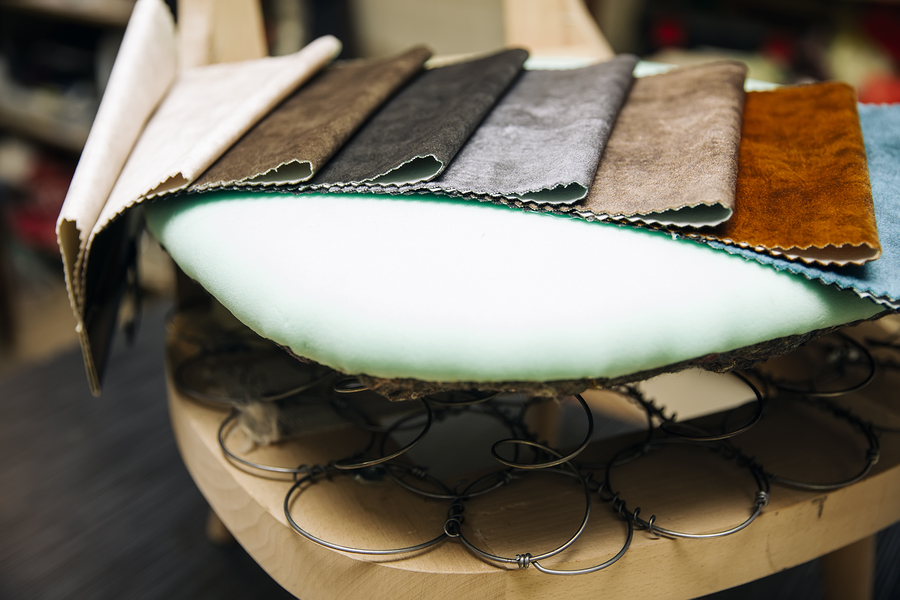 materials for reupholstery service